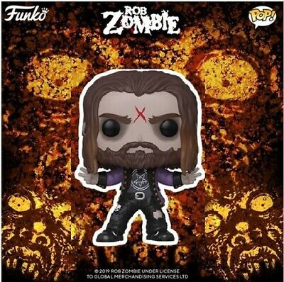 Rob Zombie - Funko Pop! Rocks: (2019, Toy NUEVO)