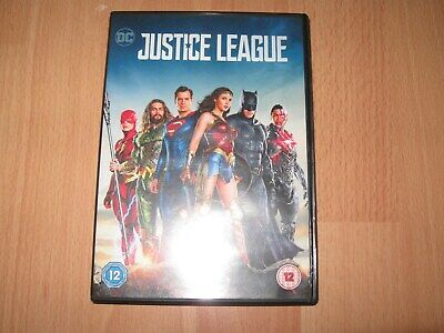 Justice League DVD - Very Good Condition