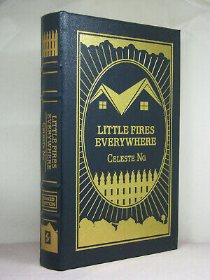 signed by author, Little Fires Everywhere by Celeste Ng,Easton Press,Hulu series