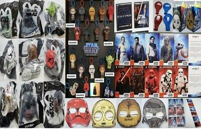 McDONALD'S 2019 STAR WARS RISE OF SKYWALKER - PICK YOUR TOY - ON HAND