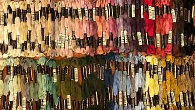 105 Anchor Embroidery Floss Thread Skeins Germany