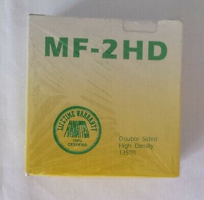 MF-2HD 10 X Diskettes Double Sided High Density 135TPI