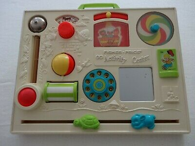 Vintage Fisher Price Activity Centre  #134 1970's great condition