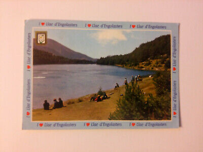 LAC ENGOLASTERS ANDORRE ANDORRA timbre stamp carte postale postcard