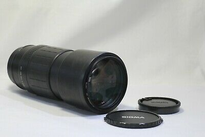 AS IS Sigma 300mm F/4 APO TELE Macro AF Lens for Minolta Sony A Mount