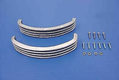 Panhead Rocker Arm Finned Cover for Harley Davidson by V-Twin