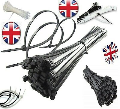 100-500 Cable ties,TOP QUALITY ,BLACK Cable Ties / Zip Wraps,cheapest IN UK.NEW