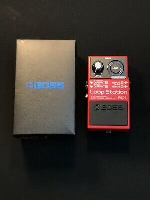 Used Boss RC-1 Loop Station Effects Pedal Electric Guitar RC1 #18 Free shipping