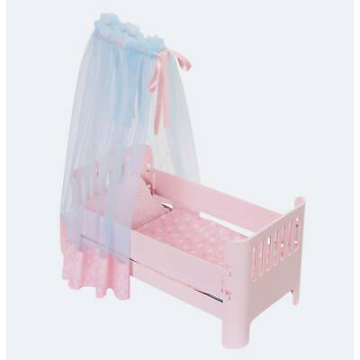NEW Baby Annabell SWEET DREAMS BED (700968) w/Lighted Canopy & Bedding