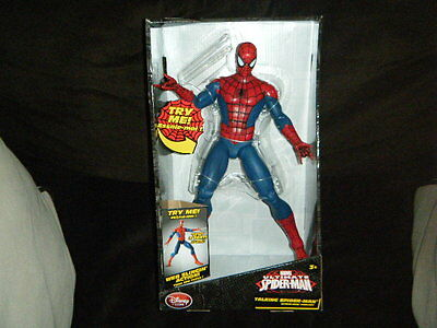 SpiderMan Homecoming Action Figure Web Water Slinging Shooter Light Sound 30cm