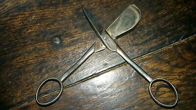 EARLY STEEL CANDLE TRIMMERS/SNUFFERS BY BENETFINK & Co CHEAPSIDE