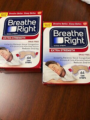 88 Breathe Right Extra Nasal Strips  *B2*