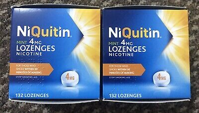 NiQuitin Mint Lozenges- 4mg Pack of 132X2=264? Lozenges NEW Limited Offer 25%off