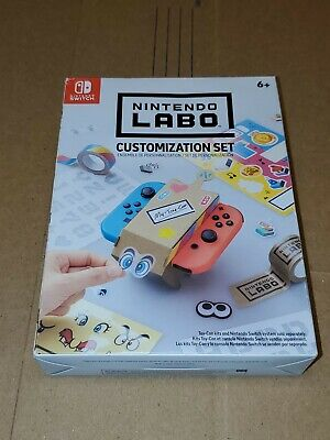 New Nintendo Switch Labo Customization Set for Toy-Con Brand Great Gift