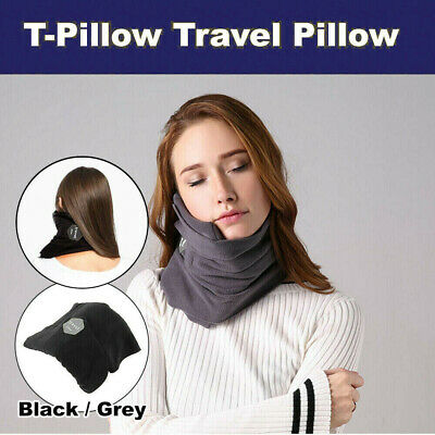 T-Pillow Neck Support Sitting Nap Portable Soft Travel Pillow Proven Comfortable