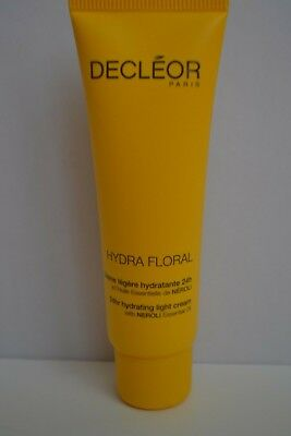 Sealed Decleor Hydra Floral 24hr hydrating light cream travel size 30ml RRP £25