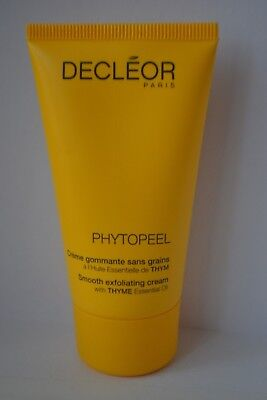 Sealed Decleor Phytopeel smooth exfoliating cream thyme oil travel size 50ml