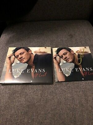 Luke Evans - At Last, An Exclusive Signed CD from that A to Z website