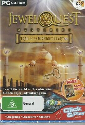 Pc Game - Jewel Quest Mysteries - Trail of the Midnight Heart