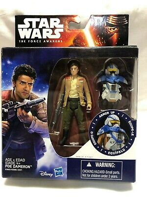 Star Wars The Force Awakens Poe Dameron 3.75 In. Action Figure New 2015