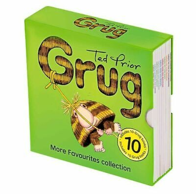 10 Grug More Favourites Collection Books Ted Prior new