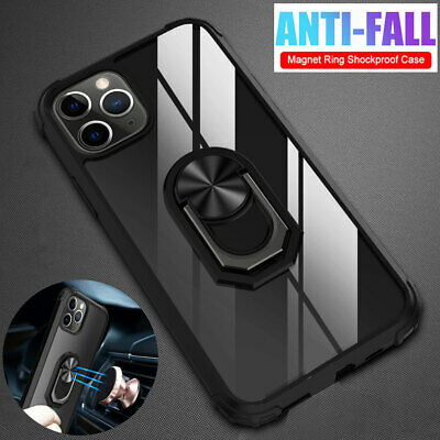 Shockproof Armor Hybrid Ring Stand Cover Case for iPhone 11 Pro Max XR X XS 7 8+