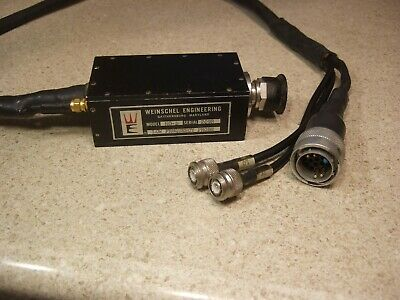 Weinschel HO-D Low Freq Probe for VM-4 Calibrators - As Is