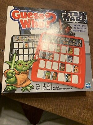 Guess Who - Star Wars Edition Game, Hasbro, 2012 Edition, 98559