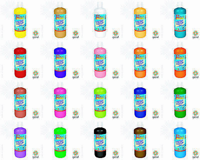 Radical/Strand 500ml Poster Paint - Washable, Kids, School, Projects, Art, Craft