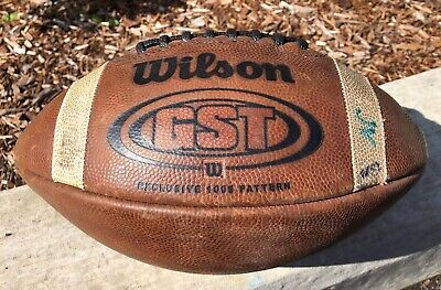 Wilson Leather Football NCAA NFHS GST 1005 Pattern