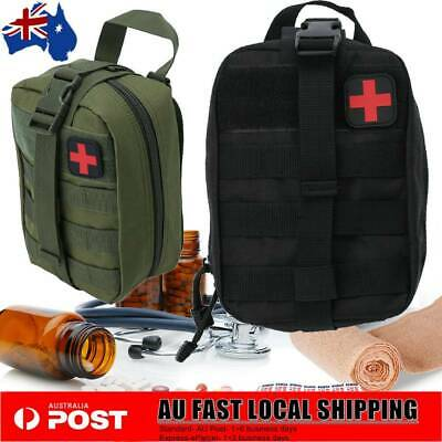 First Aid Kit Bag Tactical Survival Molle Rip-Away EMT Medical Pouch Waterproof