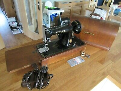 Singer 99k Electric Sewing Machine with Pedal Light & Key - Excellent Condition