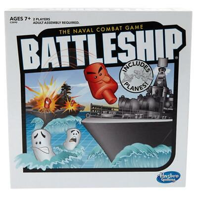 Battleship With Planes Strategy Board Game For Ages 7 and Up (Amazon...