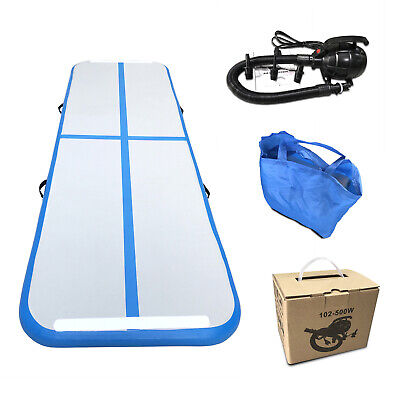 Air Track Airtrack Floor Gymnastics Tumbling Home Inflatable Mat GYM w/ Pump