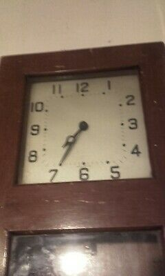 Rare Gents Of Leicester pulsynetic Electric Electrical Master Clock unique