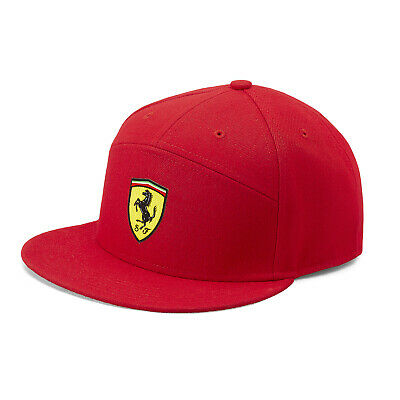 2019 Scuderia Ferrari Fanwear Baseball Cap Hat Adults Size Official Merchandise
