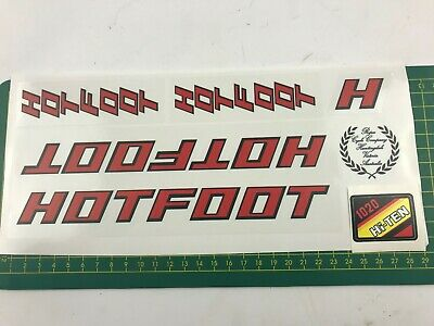 old school bmx decals stickers shimano DX brakes or levers black on clear