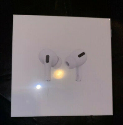Apple AirPods PRO Noise Cancelling White Wireless Earbuds GENUINE USA SELLER!!