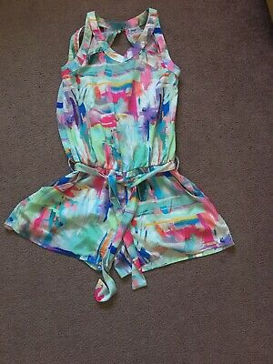 Girls Mayoral Playsuit Multi Coloured Age 10