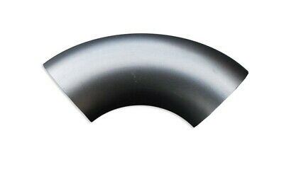 Stainless steel elbow 90' degree exhaust system different diameters steel 304