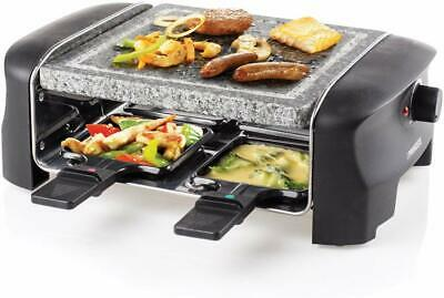 Appareil Raclette 4 Personnes Grill Barbecue 600W Neuf Hiver Black Friday