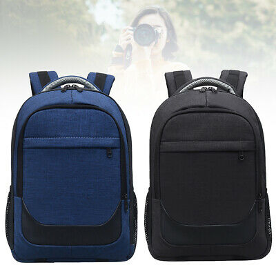 Camera Backpack Waterproof Nylon Zipper With Compartment Outdoor Large Capacity
