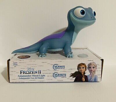🔥 Disney Frozen 2 Bruni The Salamander Mood Color Changing Night Light Figure