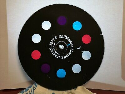 "OPTIKINETICS 6"" Image Wheel - SPOTS"