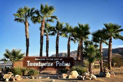 29 Palms -City Lot- Lifetime Income-Water, Power -