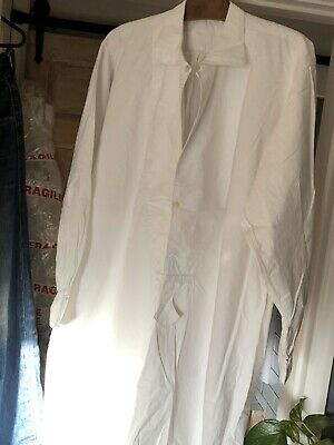 Antique French Linen-metis peasant Smock Tunic