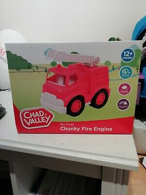chad valley my first chunky fire engine