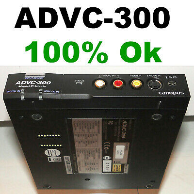 Canopus ADVC-300 VHS- DVD,AVI,MPEG,MP4 Digital Video Converter.