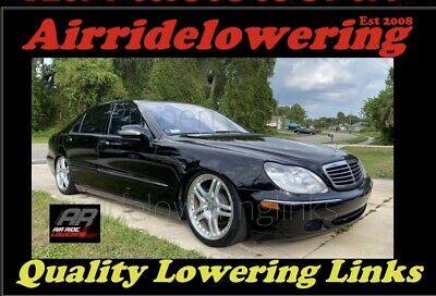 MERCEDES S CLASS W220 Air/ABC Suspension Lowering Links Full Kit