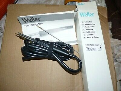 .Weller FE50 fume extraction iron. NEW!!!!